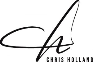 Chris Holland Logo Initials DARK